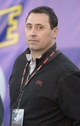 Dec 21, 2013; Las Vegas, NV, USA; Southern California Trojans coach Steve Sarkisian attends the Las Vegas Bowl game against the Fresno State Bulldogs at Sam Boyd Stadium. USC defeated Fresno State 45-20. Mandatory Credit: Kirby Lee-USA TODAY Sports