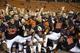 Dec 24, 2013; Honolulu, HI, USA; Oregon State Beavers players celebrate after the 2013 Hawaii Bowl against the Boise State Broncos at Aloha Stadium. Mandatory Credit: Marco Garcia-USA TODAY Sports