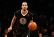 Dec 25, 2013; Brooklyn, NY, USA;  Brooklyn Nets point guard Shaun Livingston (14) advances the ball during the third quarter against the Chicago Bulls at Barclays Center. Chicago Bulls won 95-78.  Mandatory Credit: Anthony Gruppuso-USA TODAY Sports