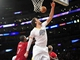 December 25, 2013; Los Angeles, CA, USA; Los Angeles Lakers center Pau Gasol (16) misses grabbing a rebound against the Miami Heat during the second half at Staples Center. Mandatory Credit: Gary A. Vasquez-USA TODAY Sports