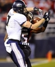 Dec 26, 2013; San Diego, CA, USA; Utah State Aggies receiver Travis Van Leeuwen (7) has a pass broken up by Northern Illinois Huskies safety Jimmie Ward (15) in the second half during the 2013 Poinsettia Bowl at Qualcomm Stadium. Mandatory Credit: Christopher Hanewinckel-USA TODAY Sports