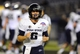 Dec 26, 2013; San Diego, CA, USA; Utah State Aggies quarterback Darell Garretson (6) celebrates after a touchdown in the second half against the Northern Illinois Huskies during the 2013 Poinsettia Bowl at Qualcomm Stadium. Mandatory Credit: Christopher Hanewinckel-USA TODAY Sports