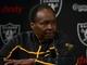 Dec 27, 2013; Alameda, CA, USA; Lester Hayes at press conference at Oakland Raiders Practice Facility. Mandatory Credit: Kirby Lee-USA TODAY Sports