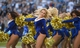 Dec 22, 2013; San Diego, CA, USA;  San Diego Chargers cheerleaders perform in Christmas costumes during the game against the Oakland Raiders at Qualcomm Stadium. Mandatory Credit: Kirby Lee-USA TODAY Sports