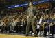 Dec 28, 2013; Memphis, TN, USA; Memphis Grizzlies head coach David Joerger during the fourth quarter against the Denver Nuggets at FedExForum. Memphis Grizzlies beat the Denver Nuggets 120-99. Mandatory Credit: Justin Ford-USA TODAY Sports