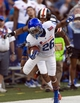 Dec 24, 2013; Honolulu, HI, USA; Boise State Broncos running back Devan Demas (26) is tackled by Oregon State Beavers safety Tyrequek Zimmerman (8) during the 2013 Hawaii Bowl at Aloha Stadium. Mandatory Credit: Marco Garcia-USA TODAY Sports