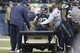 Dec 29, 2013; Seattle, WA, USA; Seattle Seahawks tight end Luke Willson (82) is loaded onto a cart following a leg injury during the fourth quarter against the St. Louis Rams at CenturyLink Field. Mandatory Credit: Joe Nicholson-USA TODAY Sports