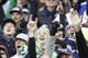 Dec 29, 2013; Seattle, WA, USA; Seattle Seahawks fans cheer during a fourth quarter against the St. Louis Rams at CenturyLink Field. Mandatory Credit: Joe Nicholson-USA TODAY Sports