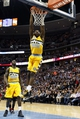 Dec 30, 2013; Denver, CO, USA; Denver Nuggets small forward Kenneth Faried (35) dunks the ball in the second quarter against the Miami Heat at the Pepsi Center. Mandatory Credit: Isaiah J. Downing-USA TODAY Sports