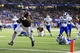 Dec 31, 2013; Atlanta, GA, USA; Texas A&M Aggies running back Tra Carson (21) runs a touchdown in the third quarter against the Duke Blue Devils in the 2013 Chick-fil-A Bowl at the Georgia Dome. Mandatory Credit: Daniel Shirey-USA TODAY Sports