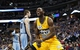 Jan 3, 2014; Denver, CO, USA; Denver Nuggets small forward Kenneth Faried (35) reacts to a play in the fourth quarter against the Memphis Grizzlies at the Pepsi Center. The Nuggets won 111-108. Mandatory Credit: Isaiah J. Downing-USA TODAY Sports