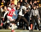 Jan 4, 2014; Birmingham, AL, USA;  Vanderbilt Commodores running back Brian Kimbrow (25) scores against the Houston Cougars during the 2014 Compass Bowl at Legion Field. The Commodores defeated the Cougars 41-24. Mandatory Credit: Marvin Gentry-USA TODAY Sports
