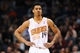 Jan 4, 2014; Phoenix, AZ, USA; Phoenix Suns guard Gerald Green (14) looks on against the Milwaukee Bucks in the first half at US Airways Center. Mandatory Credit: Jennifer Stewart-USA TODAY Sports