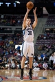 Jan 5, 2014; Auburn Hills, MI, USA; Memphis Grizzlies power forward Jon Leuer (30) shoots the ball during the fourth quarter against the Detroit Pistons at The Palace of Auburn Hills. The Grizzlies won 112-84. Mandatory Credit: Tim Fuller-USA TODAY Sports