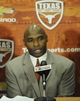 Jan 6, 2014; Austin, TX, USA; Texas Longhorns head football coach Charlie Strong speaks at a press conference in the Centennial Room of Belmont Hall at Texas-Memorial Stadium. Mandatory Credit: Brendan Maloney-USA TODAY Sports