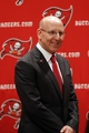 Jan 6, 2014; Tampa, FL, USA; Tampa Bay Buccaneers owner Joel Glazer during a press conference to introduce head coach Lovie Smith at One Buccaneer Place. Mandatory Credit: Kim Klement-USA TODAY Sports