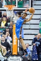 Jan 7, 2014; Salt Lake City, UT, USA; Oklahoma City Thunder shooting guard Jeremy Lamb (11) catches a pass during the second half against the Utah Jazz at EnergySolutions Arena. The Jazz won 112-101. Mandatory Credit: Russ Isabella-USA TODAY Sports