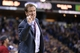Jan 7, 2014; Sacramento, CA, USA; Portland Trail Blazers head coach Terry Stotts calls out to his players during the fourth quarter against the Sacramento Kings at Sleep Train Arena. The Sacramento Kings defeated the Portland Trail Blazers 123-119. Mandatory Credit: Kelley L Cox-USA TODAY Sports