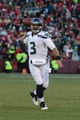 December 8, 2013; San Francisco, CA, USA; Seattle Seahawks quarterback Russell Wilson (3) passes the football during the fourth quarter against the San Francisco 49ers at Candlestick Park. The 49ers defeated the Seahawks 19-17. Mandatory Credit: Kyle Terada-USA TODAY Sports