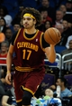 Dec 13, 2013; Orlando, FL, USA; Cleveland Cavaliers center Anderson Varejao (17) against the Orlando Magic during the second half at Amway Center. Cleveland Cavaliers defeated the Orlando Magic 109-100. Mandatory Credit: Kim Klement-USA TODAY Sports