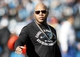 Jan 12, 2014; Charlotte, NC, USA; Recording artist Flo Rida during halftime of the 2013 NFC divisional playoff football game at Bank of America Stadium. Mandatory Credit: Jeremy Brevard-USA TODAY Sports