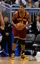 Dec 13, 2013; Orlando, FL, USA; Cleveland Cavaliers power forward Tristan Thompson (13) against the Orlando Magic during the second half at Amway Center. Cleveland Cavaliers defeated the Orlando Magic 109-100. Mandatory Credit: Kim Klement-USA TODAY Sports