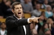 Jan 13, 2014; Boston, MA, USA; Boston Celtics head coach Brad Stevens directs his players during the second half of their 104-92 loss to the Houston Rockets at TD Garden. Mandatory Credit: Winslow Townson-USA TODAY Sports