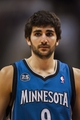 Jan 6, 2014; Philadelphia, PA, USA; Minnesota Timberwolves guard Ricky Rubio (9) during the third quarter against the Philadelphia 76ers at the Wells Fargo Center. The Timberwolves defeated the Sixers 126-95. Mandatory Credit: Howard Smith-USA TODAY Sports