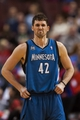Jan 6, 2014; Philadelphia, PA, USA; Minnesota Timberwolves forward Kevin Love (42) during the third quarter against the Philadelphia 76ers at the Wells Fargo Center. The Timberwolves defeated the Sixers 126-95. Mandatory Credit: Howard Smith-USA TODAY Sports
