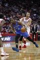 Jan 16, 2014; Houston, TX, USA; Oklahoma City Thunder small forward Kevin Durant (35) drives to the basket during the fourth quarter against the Houston Rockets at Toyota Center. Mandatory Credit: Andrew Richardson-USA TODAY Sports