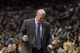 Jan 15, 2014; Philadelphia, PA, USA; Charlotte Bobcats head coach Steve Clifford reacts to a play during the fourth quarter against the Philadelphia 76ers at the Wells Fargo Center. The Sixers defeated the Bobcats 95-92. Mandatory Credit: Howard Smith-USA TODAY Sports