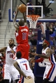 Jan 20, 2014; Auburn Hills, MI, USA; Los Angeles Clippers shooting guard Jamal Crawford (11) takes a shot during the fourth quarter against the Detroit Pistons at The Palace of Auburn Hills. Clippers beat the Pistons 112-103. Mandatory Credit: Raj Mehta-USA TODAY Sports