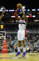 Jan 20, 2014; Washington, DC, USA; Washington Wizards shooting guard Bradley Beal (3) shoots a jumpshot against the Philadelphia 76ers during the first half at Verizon Center. Mandatory Credit: Brad Mills-USA TODAY Sports