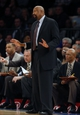 Jan 22, 2014; New York, NY, USA;  New York Knicks head coach Mike Woodson during the second half against the Philadelphia 76ers at Madison Square Garden. Philadelphia 76ers defeat the New York Knicks 110-105. Mandatory Credit: Jim O'Connor-USA TODAY Sports