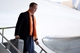 Jan 26, 2014; Newark, NJ, USA; Denver Broncos quarterback Peyton Manning arrives at Newark Liberty International Airport to face the Seattle Seahawks at Super Bowl XLVIII. Mandatory Credit: Joe Camporeale-USA TODAY Sports
