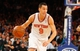 Jan 22, 2014; New York, NY, USA;  New York Knicks point guard Pablo Prigioni (9) brings the ball up court during the second half against the Philadelphia 76ers at Madison Square Garden. Philadelphia 76ers defeat the New York Knicks 110-105. Mandatory Credit: Jim O'Connor-USA TODAY Sports