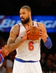 Jan 22, 2014; New York, NY, USA;  New York Knicks center Tyson Chandler (6) during the first half against the Philadelphia 76ers at Madison Square Garden. Mandatory Credit: Jim O'Connor-USA TODAY Sports