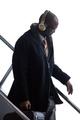 Jan 26, 2014; Newark, NJ, USA; Denver Broncos cornerback Champ Bailey arrives at Newark Liberty International Airport to face the Seattle Seahawks in Super Bowl XLVIII. Mandatory Credit: Joe Camporeale-USA TODAY Sports