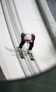 Feb 10, 2014; Krasnaya Polyana, RUSSIA; Sara Takanashi (JPN) jumps during the Sochi 2014 Olympic Winter Games at RusSki Gorki Ski Jumping Center. Mandatory Credit: Rob Schumacher-USA TODAY Sports