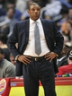 February 18, 2014; Los Angeles, CA, USA; Los Angeles Clippers head coach Doc Rivers watches game action against the San Antonio Spurs during the second half at Staples Center. Mandatory Credit: Gary A. Vasquez-USA TODAY Sports