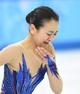 Feb 20, 2014; Sochi, RUSSIA; Mao Asada of Japan performs in the ladies free skate program during the Sochi 2014 Olympic Winter Games at Iceberg Skating Palace. Mandatory Credit: Robert Deutsch-USA TODAY Sports