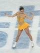 Feb 20, 2014; Sochi, RUSSIA; Feb 20, 2014; Sochi, RUSSIA; Ashley Wagner of the USA  performs in the ladies free skate program during the Sochi 2014 Olympic Winter Games at Iceberg Skating Palace. Mandatory Credit: Robert Hanashiro-USA TODAY Sports