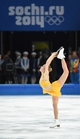 Feb 20, 2014; Sochi, RUSSIA; Ashley Wagner of the USA performs in the ladies free skate program during the Sochi 2014 Olympic Winter Games at Iceberg Skating Palace. Mandatory Credit: Robert Deutsch-USA TODAY Sports