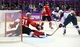 Feb 21, 2014; Sochi, RUSSIA; Canada goalie Carey Price (31) makes a save on a shot by USA forward Zach Parise (9) in the men's ice hockey semifinals during the Sochi 2014 Olympic Winter Games at Bolshoy Ice Dome. Mandatory Credit: Winslow Townson-USA TODAY Sports