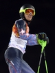 Feb 22, 2014; Krasnaya Polyana, RUSSIA; Ted Ligety (USA) reacts after he did not complete his second run of men's alpine skiing slalom during the Sochi 2014 Olympic Winter Games at Rosa Khutor Alpine Center. Mandatory Credit: Eric Bolte-USA TODAY Sports
