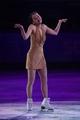 Feb 22, 2014; Sochi, RUSSIA; Mao Asada of Japan performs in the figure skating gala exhibition during the Sochi 2014 Olympic Winter Games at Iceberg Skating Palace. Mandatory Credit: Kyle Terada-USA TODAY Sports