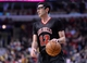 Mar 2, 2014; Chicago, IL, USA; Chicago Bulls shooting guard Kirk Hinrich (12) dribbles the ball against the New York Knicks during the second half at the United Center. Chicago defeats New York 109-90. Mandatory Credit: Mike DiNovo-USA TODAY Sports