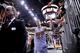 Mar 2, 2014; Phoenix, AZ, USA; Phoenix Suns shooting guard Goran Dragic (1) leaves the court  after the second half at US Airways Center. The Phoenix Suns won the game 129-120. Mandatory Credit: Joe Camporeale-USA TODAY Sports