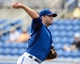Mar 5, 2014; Dunedin, FL, USA;Toronto Blue Jays pitcher Brandon Marrow (23) throws a pitch during the spring training exhibition game against the Pittsburg Pirates at Florida Auto Exchange Park. Mandatory Credit: Jonathan Dyer-USA TODAY Sports