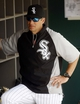 Mar 5, 2014; Phoenix, AZ, USA; Chicago White Sox manager Robin Ventura (23) sits in the dugout before a game against the San Diego Padres at Camelback Ranch. Mandatory Credit: Rick Scuteri-USA TODAY Sports